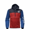 The North Face Mens IC Anorak Pullover Fiery Red/ Aviator Blue/ Hero Blue