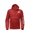 The North Face Mens IC Anorak Pullover Fiery Red/ TNF Black
