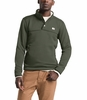 The North Face Mens Sherpa Patrol 1/4 Snap Pullover New Taupe Green Heather/Peyote Beige