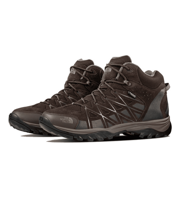The North Face Mens Storm III Mid WP Boot Coffee Brown/ Shroom Brown  (Close Out)