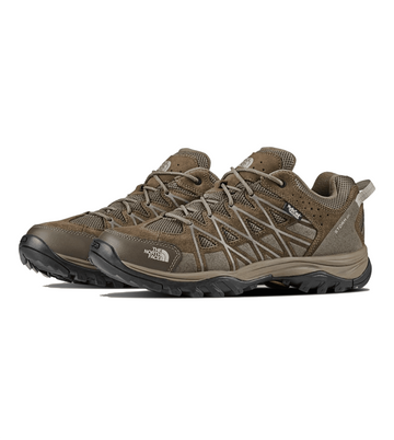 The North Face Mens Storm III WP Shoe Weimaraner Brown/ Shroom Brown