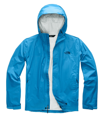 The North Face Mens Venture 2 Jacket Heron Blue  (Close Out)