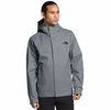 The North Face Mens Venture 2 Jacket Mid Grey/ Mid Grey/ TNF Black (close out)