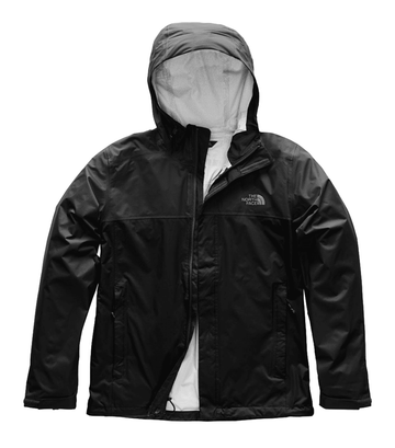 The North Face Mens Venture 2 Jacket TNF Black/ TNF Black (Close Out)
