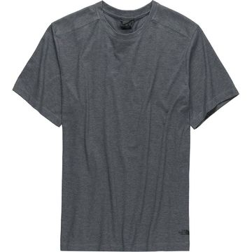 The North Face Mens Watkins Crew Neck Short Sleeve TNF Medium Grey Heather  (close out)