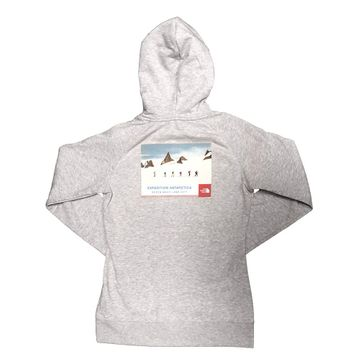 The North Face Womens Antarctica Collectors Pullover Hoodie TNF Light Grey Heather (Close Out)