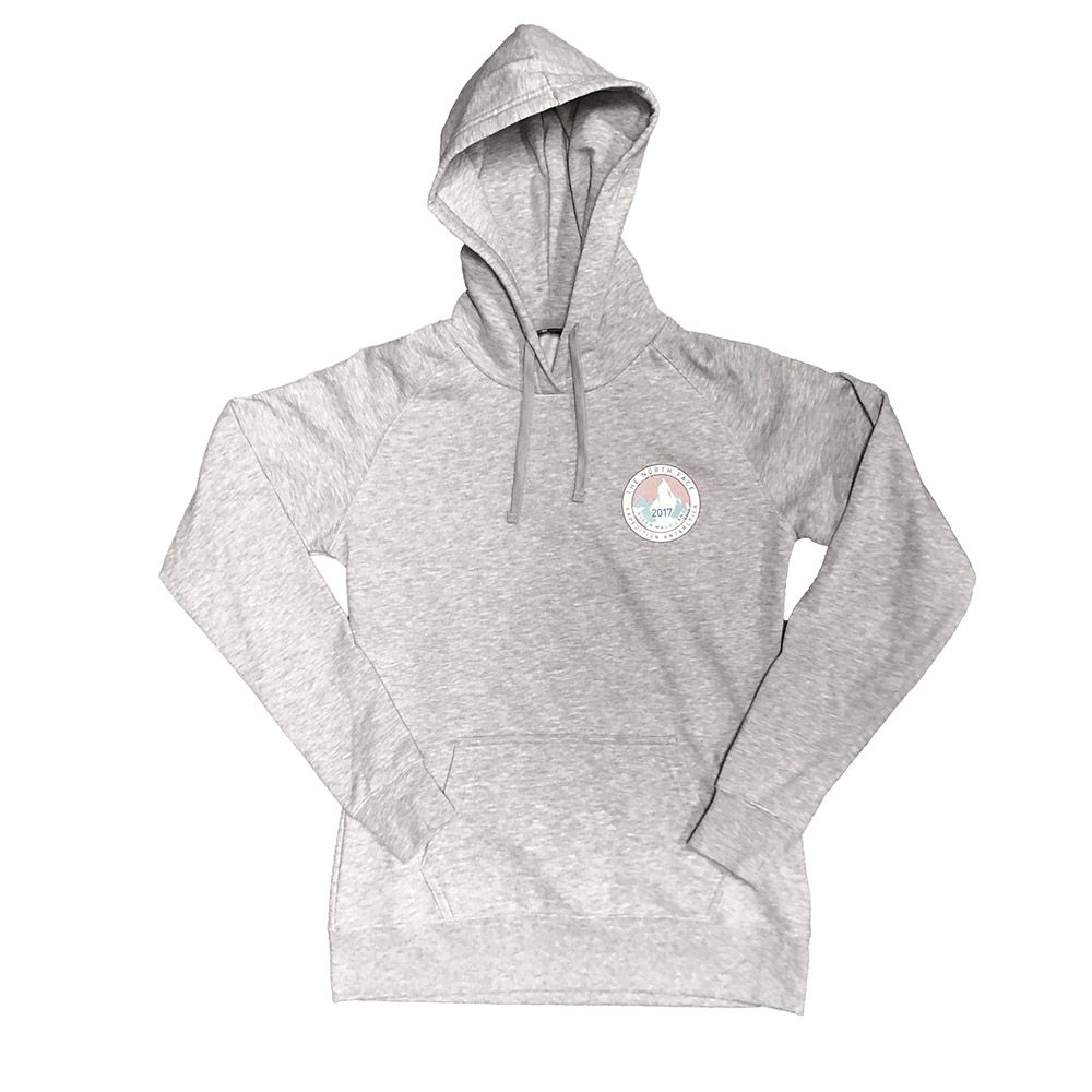 5f3f76ee2 The North Face Womens Antarctica Collectors Pullover Hoodie TNF Light Grey  Heather (Close Out)