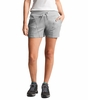 "The North Face Womens Aphrodite 2.0 6"" Inseam Short TNF Medium Grey Heather"