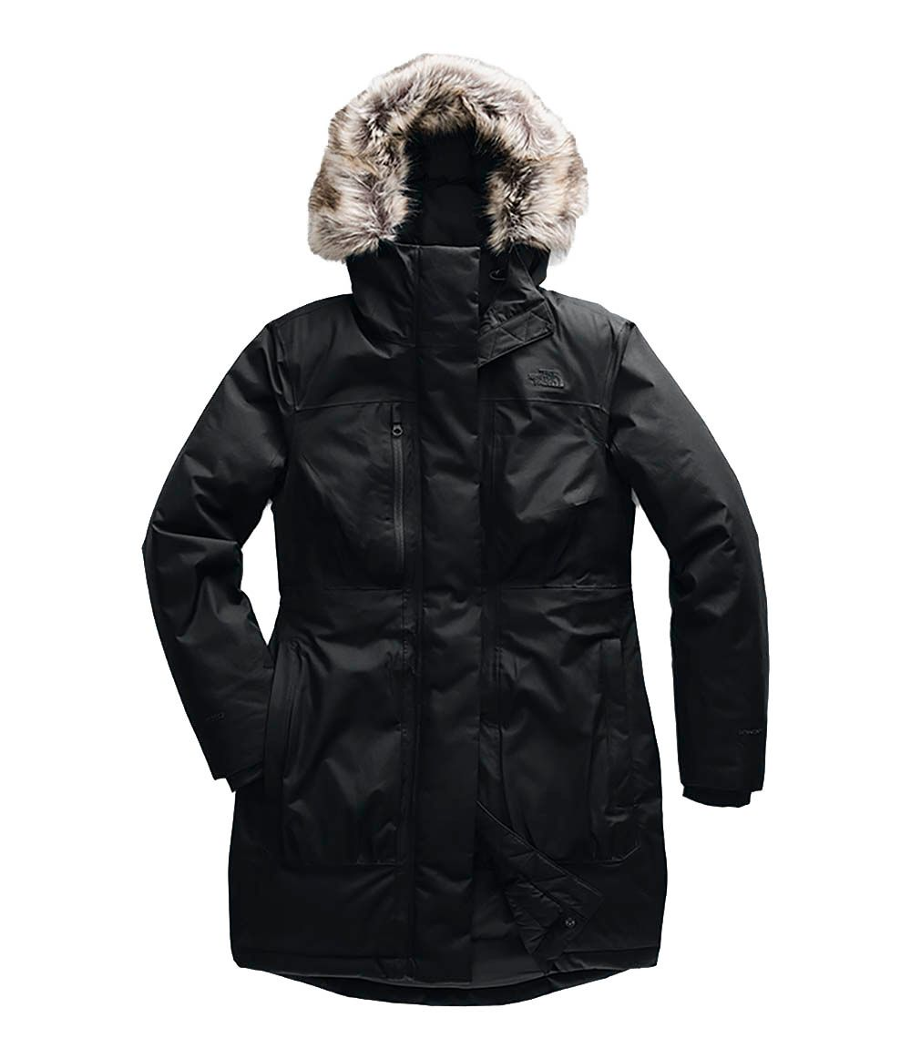 The North Face Womens Downtown Parka TNF Black