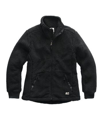 The North Face Womens Campshire Full Zip Jacket TNF Black (Close Out)