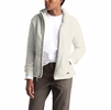 The North Face Womens Campshire Full Zip Jacket Vintage White/Dove Grey (Close Out)