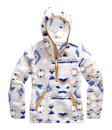 The North Face Womens Campshire Pullover Hoodie 2.0 TNF Blue California Geo Print (Close Out)