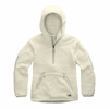 The North Face Womens Campshire Pullover Hoodie 2.0 Vintage White/Dove Grey (Close Out)