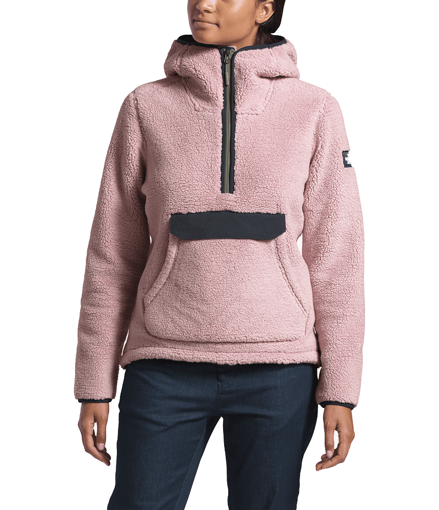 8877c4878 The North Face Womens Campshire Pullover Hoodie Burnished Lilac/ Urban Navy