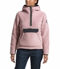 The North Face Womens Campshire Pullover Hoodie Burnished Lilac/ Urban Navy