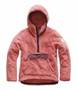The North Face Womens Campshire Pullover Hoodie Faded Rose/ Fig