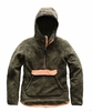 The North Face Womens Campshire Pullover Hoodie New Taupe Green/ Cargo Khaki