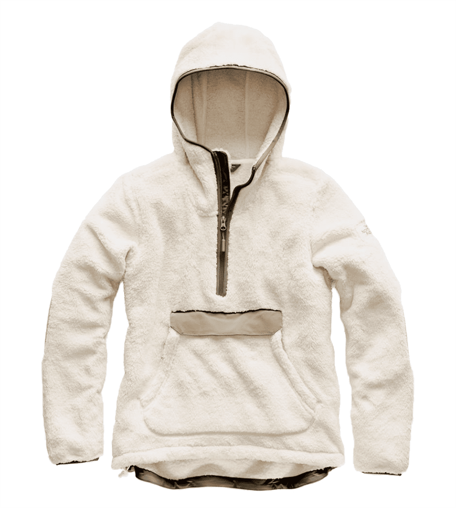 45a83173d The North Face Womens Campshire Pullover Hoodie Vintage White/ Silt Grey  (close out)
