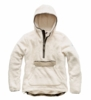 The North Face Womens Campshire Pullover Hoodie Vintage White/ Silt Grey