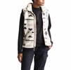 The North Face Womens Campshire Vest 2.0 Vintage White California Geo Print