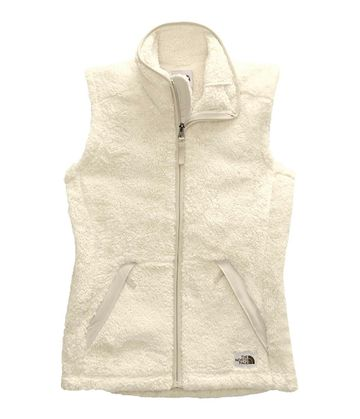 The North Face Womens Campshire Vest 2.0 Vintage White/Dove Grey (Close Out)