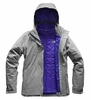 The North Face Womens Carto Triclimate Jacket Mid Grey/ Mid Grey