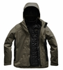 The North Face Womens Carto Triclimate Jacket New Taupe Green/ Weathered Black