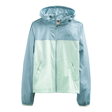 The North Face Womens Cyclone Jacket Tourmaline Blue/ Misty Jade