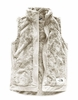 The North Face Womens Furry Fleece Vest Vintage White