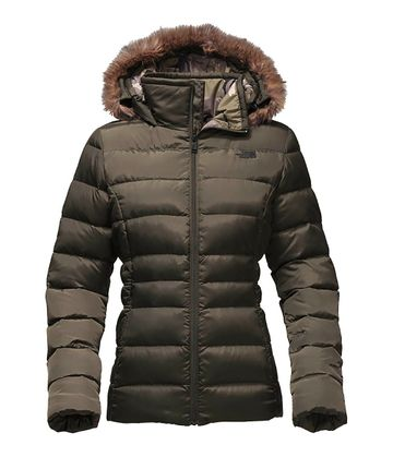 The North Face Womens Gotham Jacket II New Taupe Green  (close out)