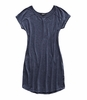 The North Face Womens Loasis Tee Dress Urban Navy Heather
