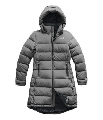 The North Face Womens Metropolis Parka III TNF Medium Grey Heather (Close Out)