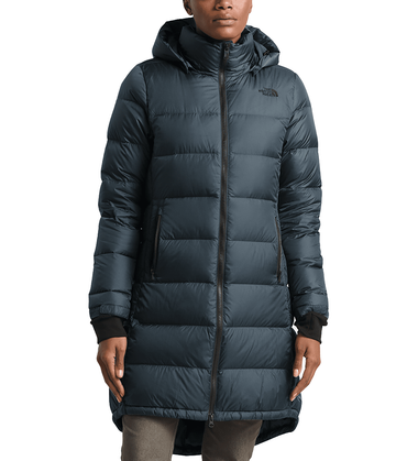 The North Face Womens Metropolis Parka III Urban Navy (Close Out)