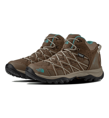 The North Face Womens Storm III Mid WP Boot Cub Brown/ Crockery Beige (Close Out)