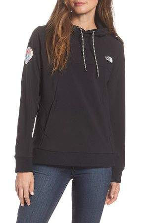 The North Face Womens Tekno Fresh Hoodie Antarctica Edition TNF Black (Close Out)