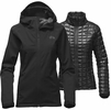The North Face Womens Thermoball Triclimate Jacket TNF Black (Close Out)