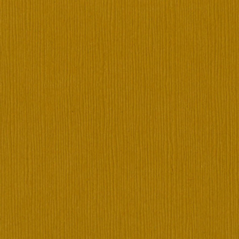 """Bazzill - 12""""x12"""" Cardstock - Curry Spice"""