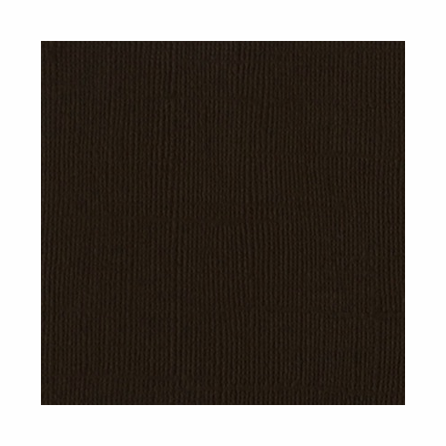 Bazzill - 12x12 Cardstock - Brown - S/O