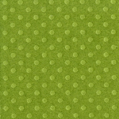 """Bazzill Basics: 12""""x12"""" Dotted Swiss Cardstock - Clover Leaf - S/O"""
