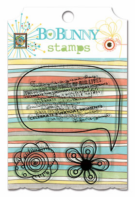 Bo Bunny: Ad Lib - Clear Stamps