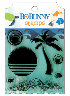 Bo Bunny: Barefoot & Bliss - Clear Stamps (S/O)