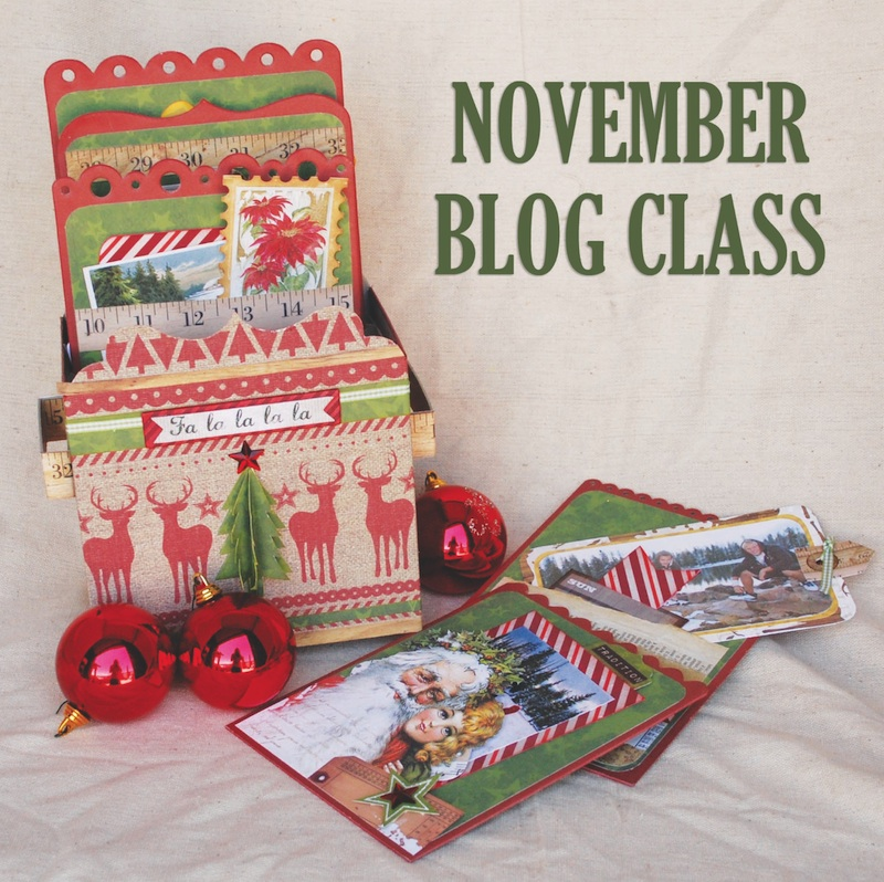 Bo Bunny - Christmas Collage - Class Kit (S/O)