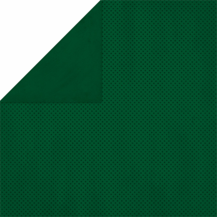 Bo Bunny - Double Dot Cardstock - Evergreen