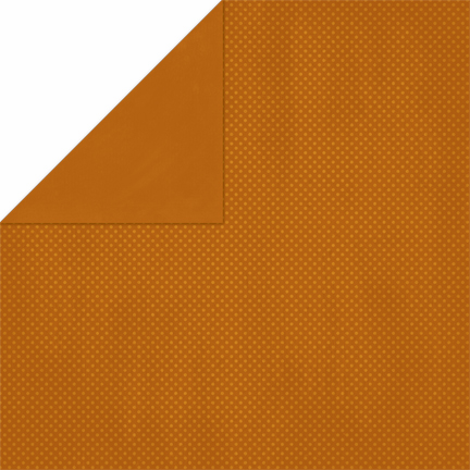 Bo Bunny - Double Dot Cardstock - Rust