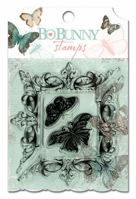 Bo Bunny - Gabrielle - Clear Stamps (E)