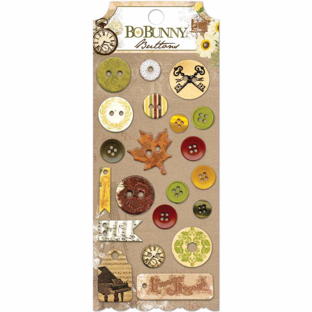 Bo Bunny - Heritage - Buttons (E*)