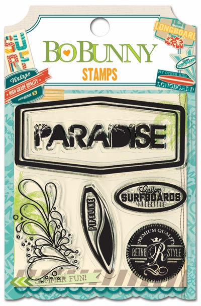 Bo Bunny - Key Lime - Clear Stamps