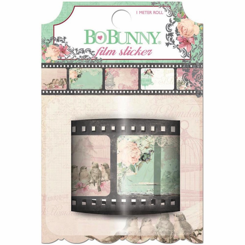 Bo Bunny Madeleine Film Sticker