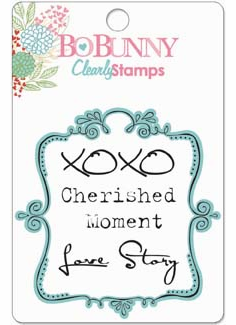 Bo Bunny Persuasion Cherished Clearly Stamps (E)