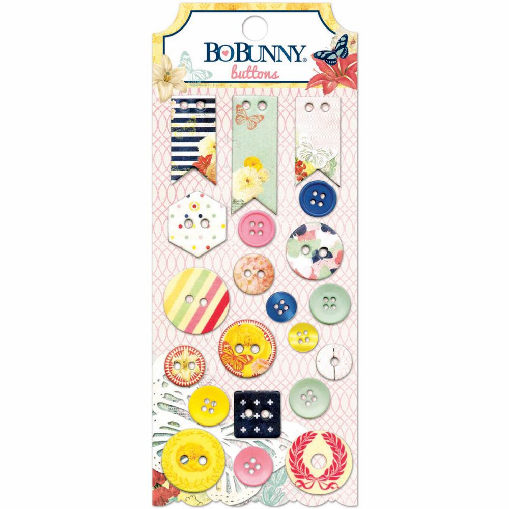 Bo Bunny Sweet Life Buttons
